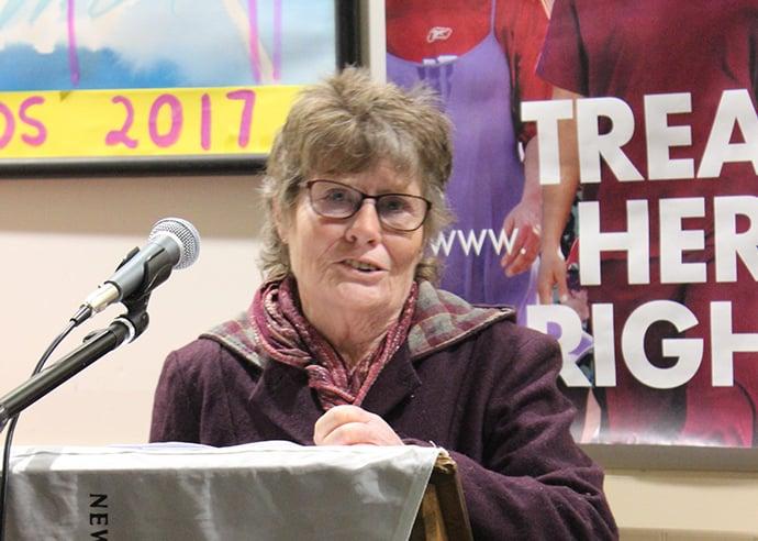 CTU award-winner, Jan Lowe