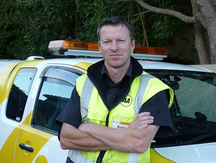 E tū's award-winning health and safety rep, Brett Swanson